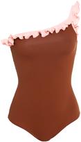 Laura Urbinati Ruffle One Piece Swimsuit