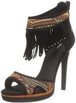 Blink Women's BopheliaL Open Toe Sandals Multicolour Size: 4.5-5