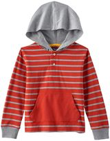 Chaps Toddler Boy Striped Henley Hoodie