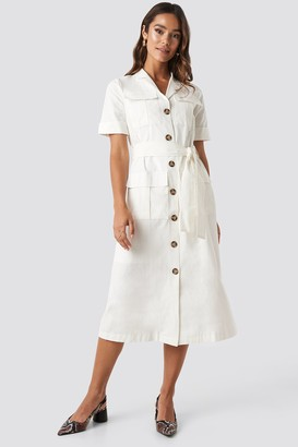 Trendyol Buttoned Midi Dress