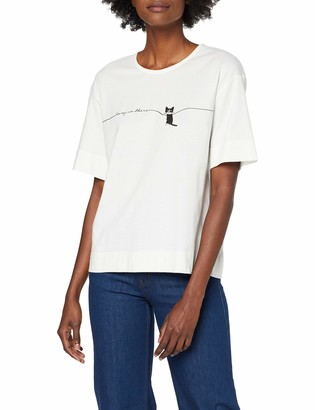 People Tree Peopletree Women's Hang in There Cat Tee T-Shirt