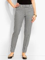 Talbots Hampshire Ankle Pant-Curvy Fit/Gingham