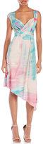 Leonard Short Silk Dress