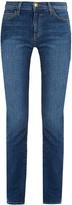 Current/Elliott The Slim Straight mid-rise jeans