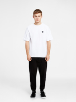DKNY T-Shirt With Mesh Overlay Sleeves