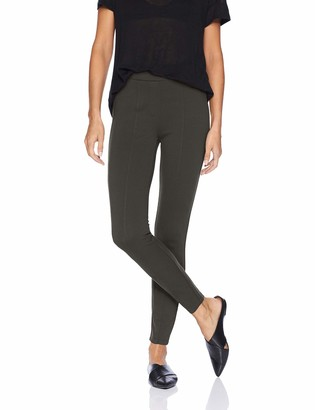 Daily Ritual Women's Faux 5-Pocket Ponte Knit Legging