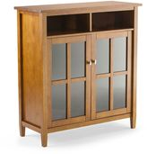 Simpli Home Warm Shaker Storage & Entertainment Cabinet