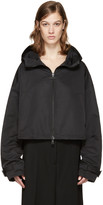 Jil Sander Black Biribol Hooded Jacket