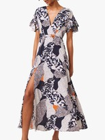 French Connection Asha Abstract Print Maxi Dress, Multi