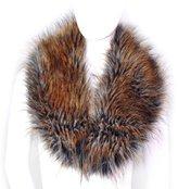 Futrzane Women's Faux Fur Neck Scarf Wrap