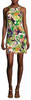 Trina Turk Aptos Cotton Two Printed Flared Dress
