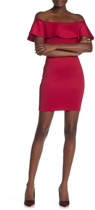 Love...Ady Off-the-Shoulder Bodycon Dress