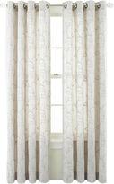 Martha Stewart MarthaWindowTM Meridian Leaf Grommet-Top Curtain Panel