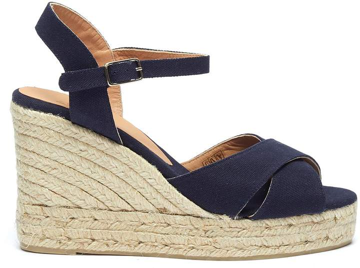 6b2bfe8d45 Espadrille Wedges With Ankle Strap - ShopStyle