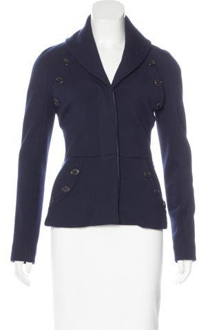Christian Dior Wool Long Sleeve Jacket