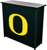 Trademark Global University of Oregon Home Bar Logo: Carbon Fiber
