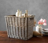 Pottery Barn Willow Tall Basket