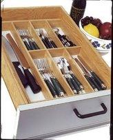 Lipper 377 Beechwood Flatware Tray