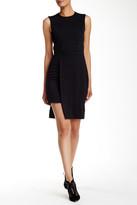 Nicole Miller Cutout Lace-Up Dress
