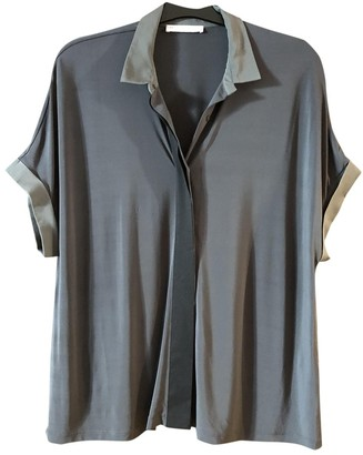 Fabiana Filippi Blue Silk Top for Women