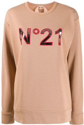 No.21 Logo Applique Sweatshirt