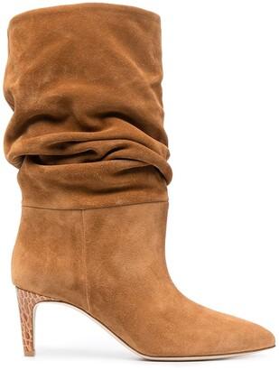 Paris Texas Slouched Suede Boots