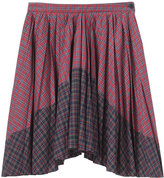 Boy By Band Of Outsiders Plaid Pleated Skirt