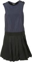 Moncler Colour Block Shift Dress