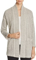 Eileen Fisher Textured Knit Kimono Jacket