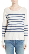 Joie Women's Simonne Stripe Wool & Cashmere Sweater