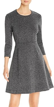 Leota Carly Fit-and-Flare Knit Dress