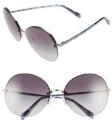 Oliver Peoples 'Jorie' 62mm Semi-Rimless Sunglasses