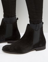 Zign Shoes Suede Chelsea Boots
