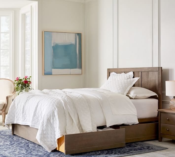 used pottery barn bed shopstyle rh shopstyle com