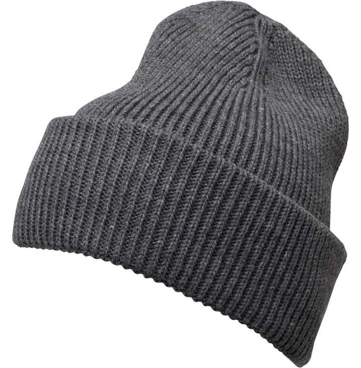 7c291bc2b Mens Plain Knit Beanie Charcoal