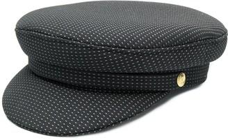 Manokhi dot print Biker hat
