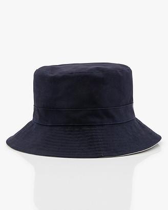 Le Château Reversible Cotton Bucket Hat