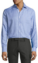Ralph Lauren Houndstooth Dress Shirt, Blue