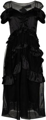Simone Rocha Skeleton midi dress