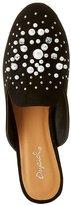 Charlotte Russe Qupid Embellished Loafer Mules