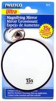 Swissco Suction Cup Mirror 9 cm Diameter 15X Magnification