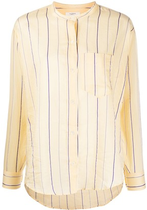 Etoile Isabel Marant Satchell striped shirt