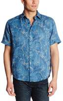 Margaritaville Men's Short Sleeve Gauze Shirt Swimmers