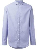 DSQUARED2 Men's Light Blue Cotton Shirt.