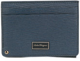 Salvatore Ferragamo Credit card case - men - Calf Leather - One Size