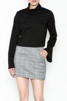 Solemio Grommet Tie Sweater
