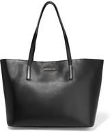 MICHAEL Michael Kors Emry Medium Leather Tote - Black
