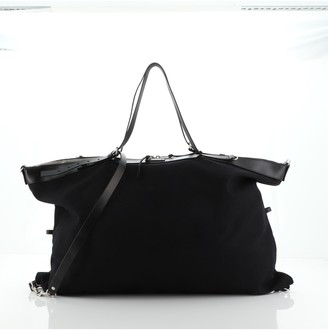 Saint Laurent ID Convertible Bag Canvas XL