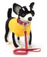 Black Chihuahua Plush Toy
