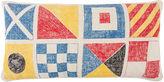 Thomas Paul Flags/Knots Sketch 18x34 Pillow, Multi